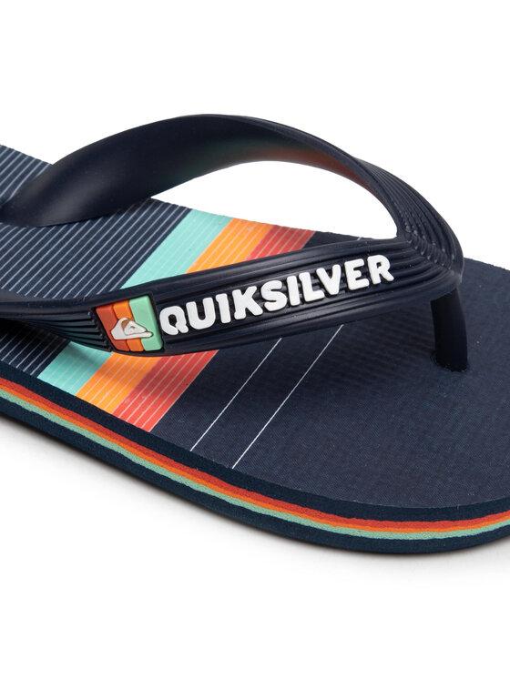 Quiksilver Quiksilver Japonki AQBL100492 Granatowy
