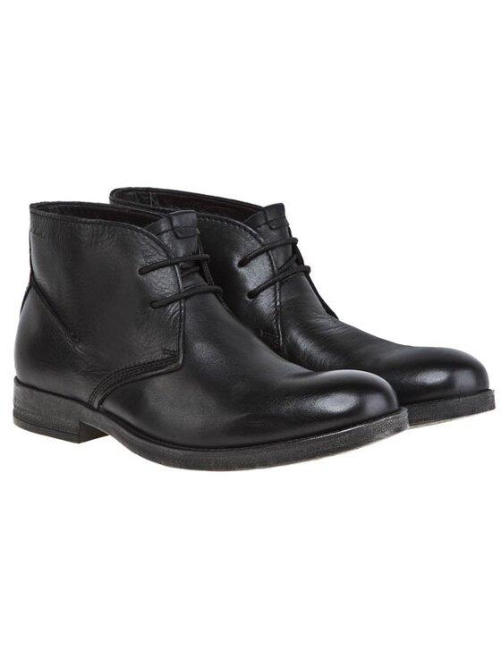 Clarks Clarks Kotníková obuv 203549867 Černá