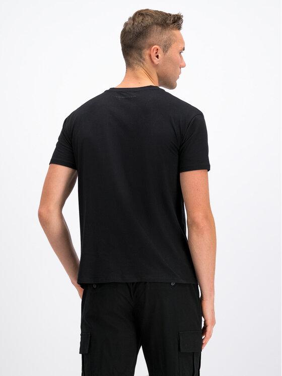 Emporio Armani Emporio Armani T-Shirt 6G2T6E 2JQAZ 0999 Černá Regular Fit