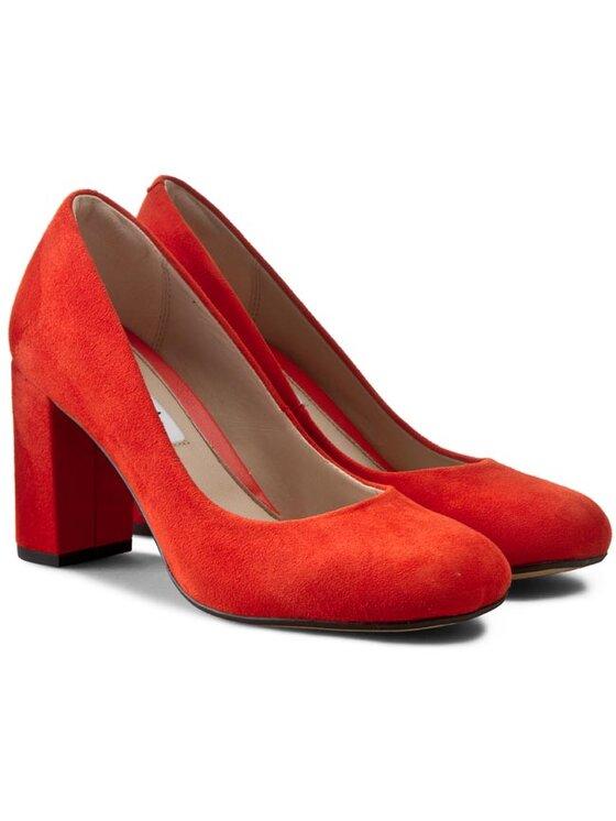 Clarks Clarks Κλειστά παπούτσια Gabriel Mist 261110304 Κόκκινο
