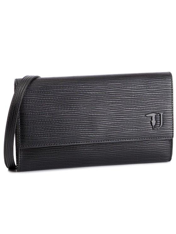 Trussardi Jeans Trussardi Jeans Дамска чанта T-Easy City Clutch 75B00664 Черен