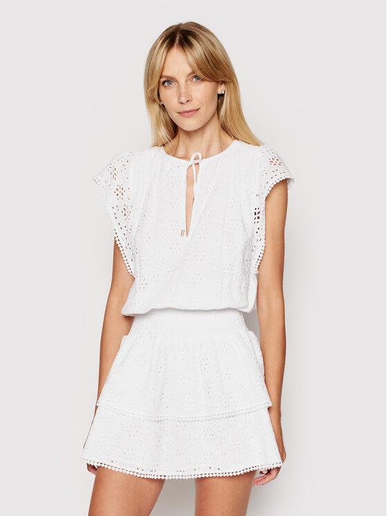 Melissa Odabash Vasarinė suknelė Keri CR Balta Regular Fit