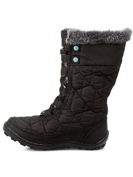 Columbia Columbia Μπότες Χιονιού Youth Minx Mid II Waterproof BY 1313 Μαύρο