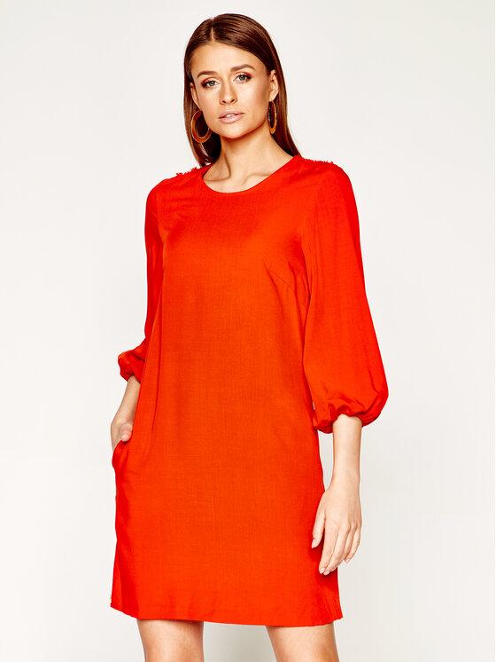 Manila Grace Kasdieninė suknelė A436VU Oranžinė Regular Fit