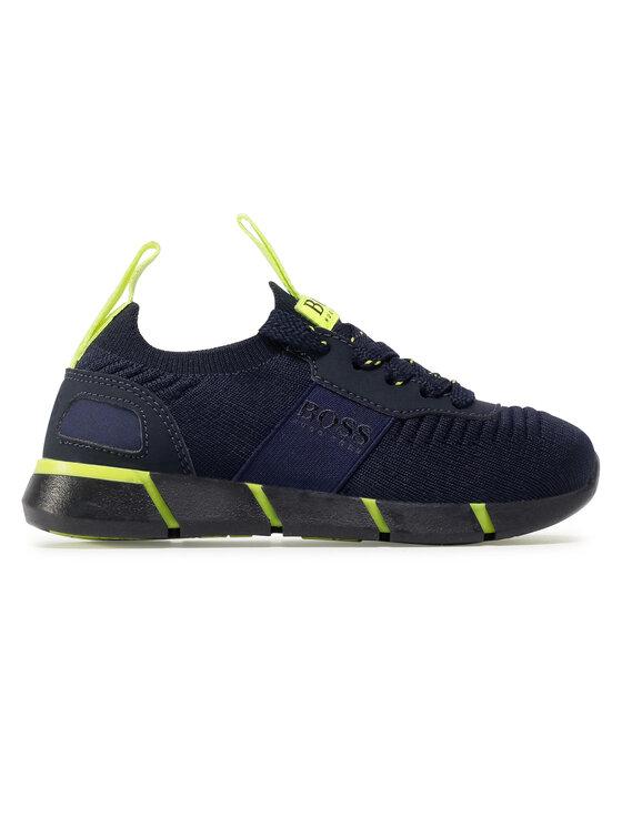 Boss Boss Sneakersy J29217 M Granatowy
