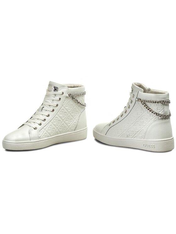 Guess Guess Sneakersy Gerta FLGER1 LEA12 Bílá