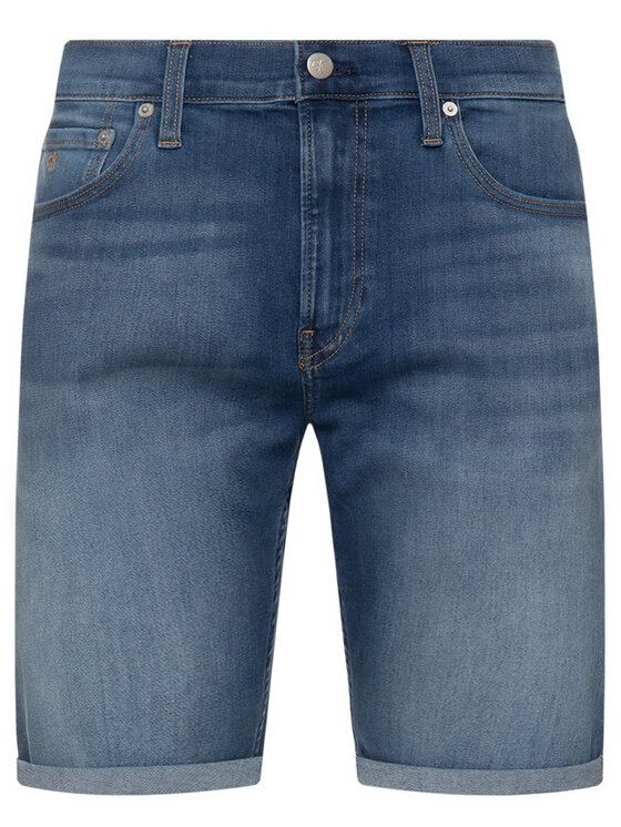 Calvin Klein Jeans Calvin Klein Jeans Дънкови шорти Denim J30J314637 Син Regular Fit