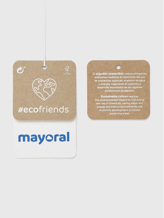 Mayoral Mayoral Bluzka 2084 Biały Regular Fit