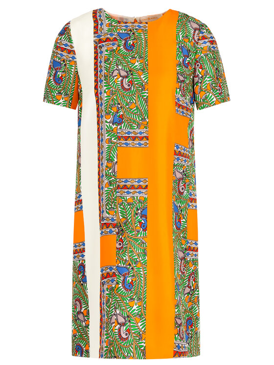 Tory Burch Tory Burch Vasarinė suknelė Printed Shift Dress 53914 Spalvota Regular Fit