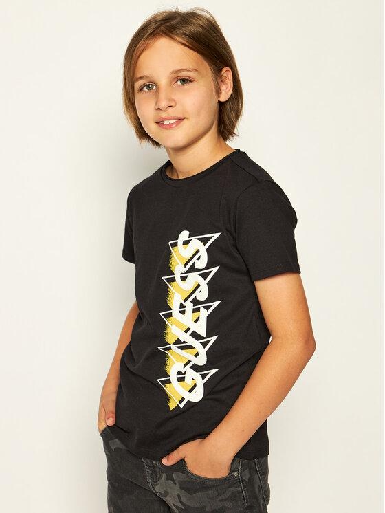 Guess Guess T-Shirt L01I02 K82E0 Černá Regular Fit