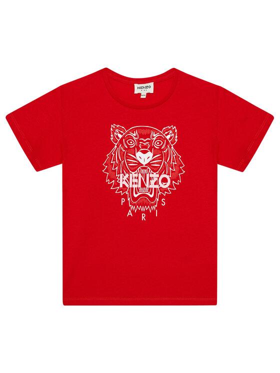 Kenzo Kids Marškinėliai K15086 D Raudona Regular Fit