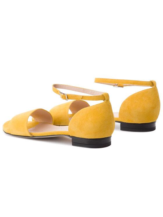 Gino Rossi Gino Rossi Sandały Saly DNH859-W16-0020-2100-0 Żółty