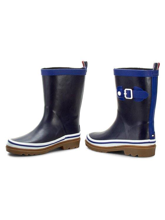 Tommy Hilfiger Tommy Hilfiger Kalosze Rain Boot 4 FB56817966 S Granatowy