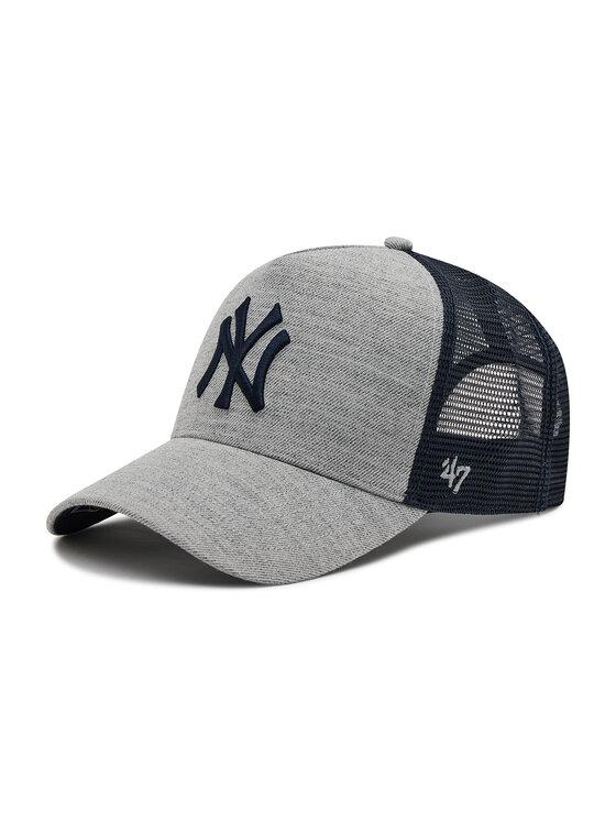 47 Brand Kepurė su snapeliu Mlb New York Yankees Storm Cloud Mesh B-STMSD17WHP-CC Pilka