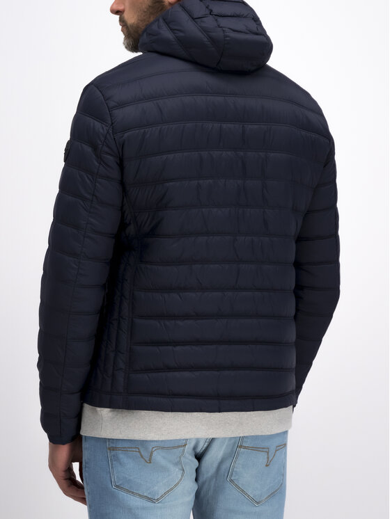 Joop! Jeans Joop! Jeans Pūkinė striukė 30015543 Tamsiai mėlyna Regular Fit