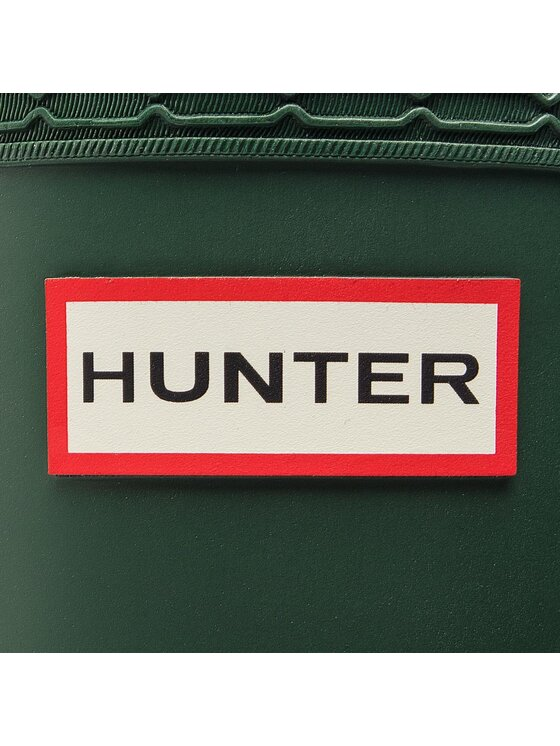Hunter Hunter Kalosze Orig Back Adj Short WFS1013RMA Zielony
