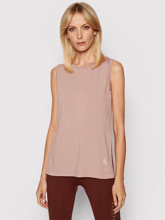 Carpatree Techniniai marškinėliai Slit CPW-SHI-1001 Rožinė Regular Fit