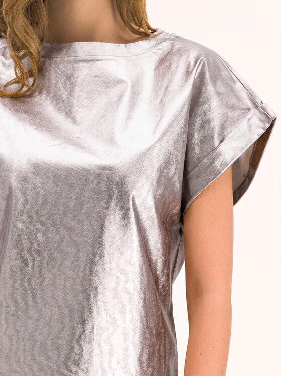 Marella Marella Bluză 39760298 Argintiu Regular Fit