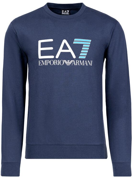 EA7 Emporio Armani EA7 Emporio Armani Felpa 3GPM13 PJ05Z 1554 Blu scuro Regular Fit