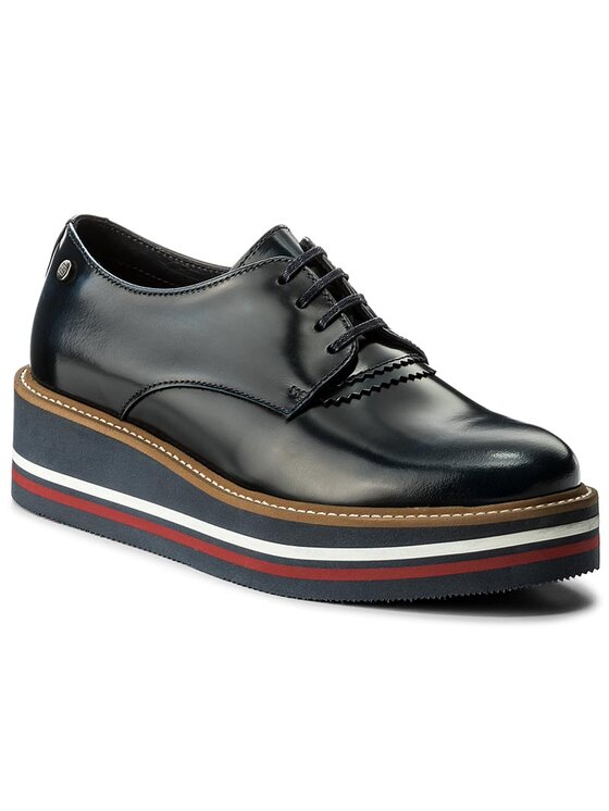 Tommy Hilfiger Tommy Hilfiger Chaussures basses Elisa 1A FW0FW01827 Bleu marine