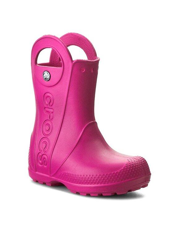 Crocs Crocs Γαλότσες Handle It Rain Boot Kids 12803 Ροζ