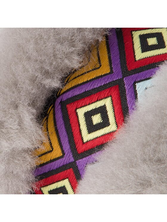 EMU Australia EMU Australia Chaussons Wrenlette Tribal W11904 Gris