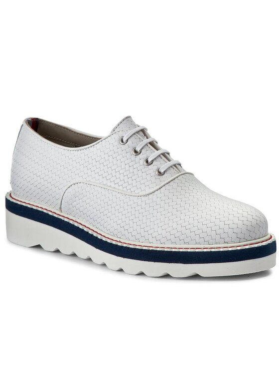 Tommy Hilfiger Tommy Hilfiger Chaussures basses Paulina 2A FW0FW01040 Blanc