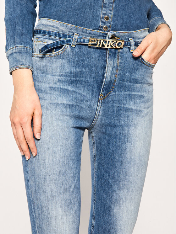 Pinko Pinko Skinny Fit džíny Susan PE 20 PDEN 1J10CF Y62M Modrá Skinny Fit