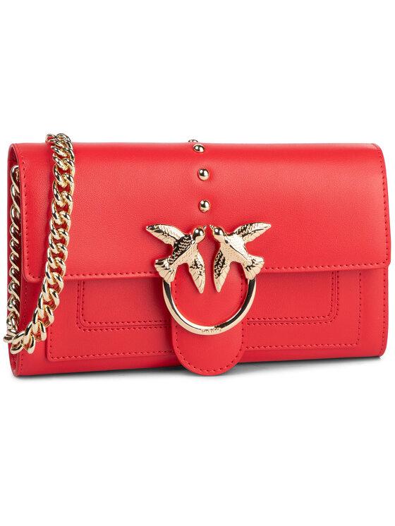 Pinko Pinko Torebka Love Wallet Simply C PE 20 PLTT 1P21KV Y5FF Czerwony