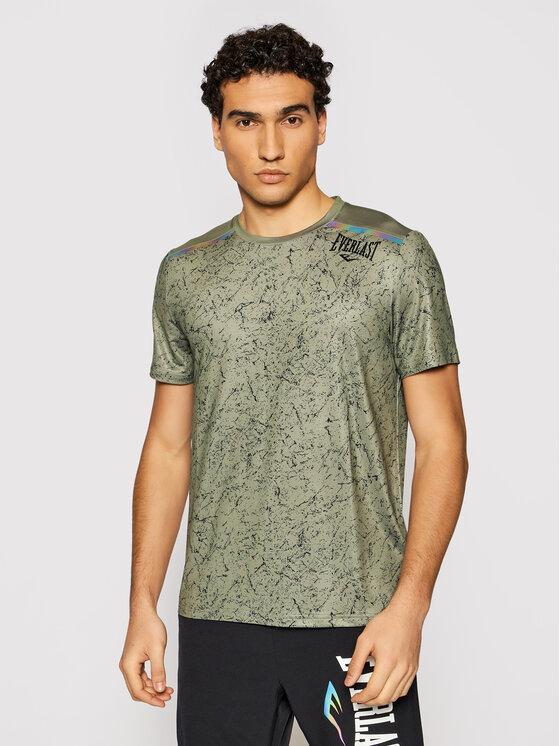 EVERLAST Marškinėliai 804450-60 Žalia Regular Fit