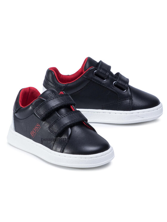 Boss Boss Sneakersy J09J31 Czarny