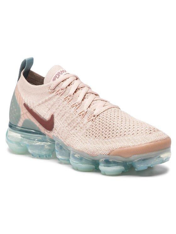 Nike Nike Cipő Air Vapormax Flyknit 2 942843 203 Rózsaszín