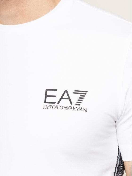 EA7 Emporio Armani EA7 Emporio Armani T-Shirt 3HPT07 PJ03Z 1100 Weiß Slim Fit