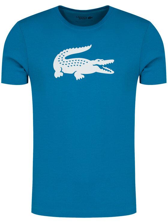 Lacoste Lacoste T-Shirt TH3377 Niebieski Regular Fit