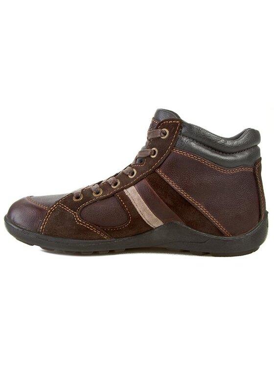Geox Geox Šnurovacia obuv U N.Compass B Abx B U44L3B 04622 C0197 Hnedá