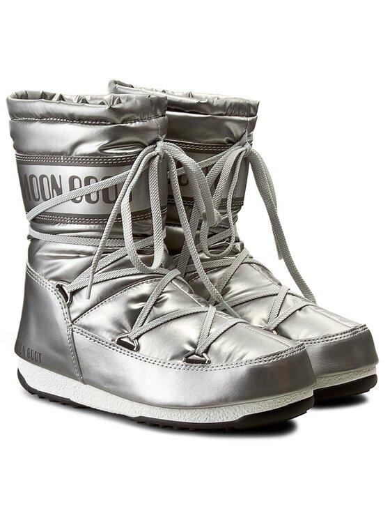 Moon Boot Moon Boot Sniego batai Moon Boot W.E. Soft Mid Met 24005200002 Sidabrinė