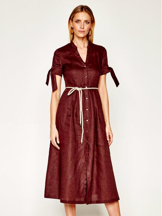 Pennyblack Marškinių tipo suknelė Manuela 22210420 Ruda Regular Fit