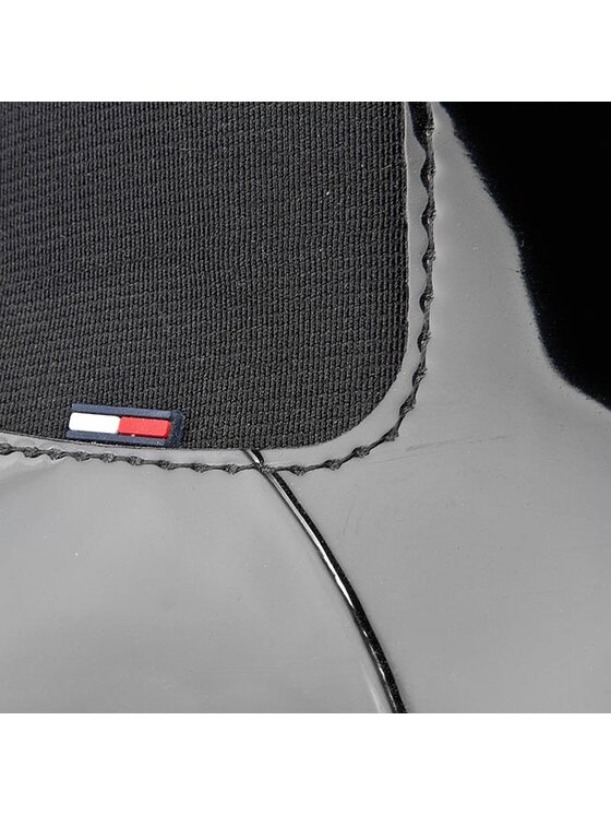 Tommy Hilfiger Tommy Hilfiger Gumicsizma Oxley 6R FW56819934 Fekete