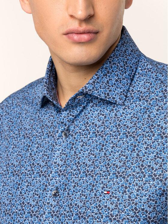 Tommy Hilfiger Tailored Tommy Hilfiger Tailored Camicia TT0TT05558 Blu scuro Slim Fit