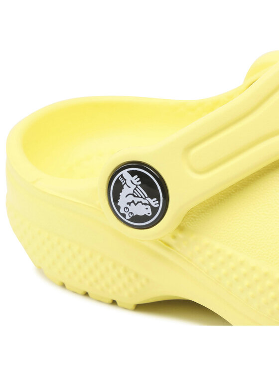 Crocs Crocs Klapki Classic Clog K 204536 Żółty