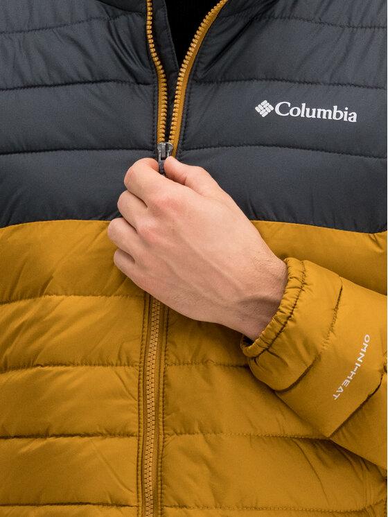 Columbia Columbia Geacă din puf Powder Lite 1698001 Maro Regular Fit