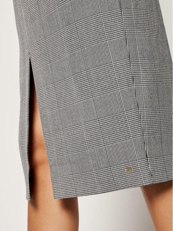 Tommy Hilfiger Tommy Hilfiger Koktejlové šaty WW0WW25900 Sivá Slim Fit