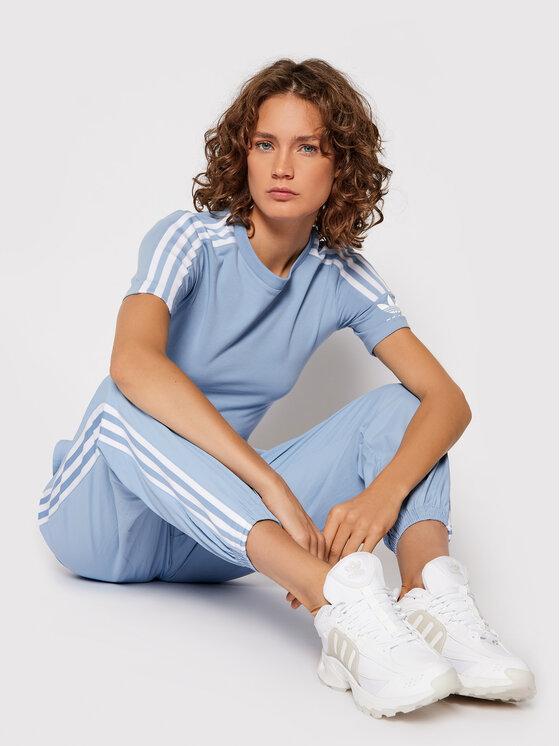 adidas adidas T-shirt H33545 Plava Tight Fit