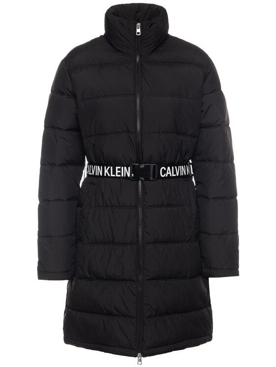 Calvin Klein Jeans Calvin Klein Jeans Μπουφάν πουπουλένιο Belted Puuffer J20J212531 Μαύρο Regular Fit