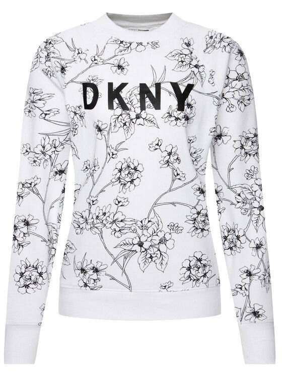 DKNY Sport DKNY Sport Mikina DP9T6721 Biela Regular Fit