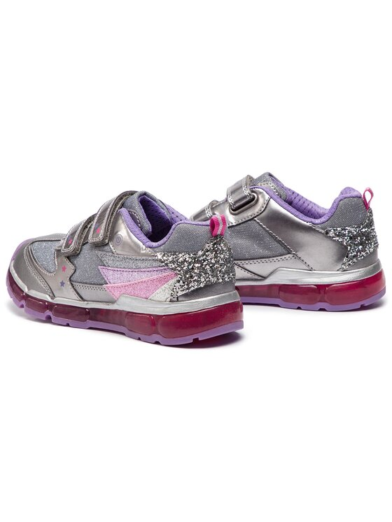 Geox Geox Sneakers J Android G.B J8445B 0AJAS C1335 D Argento