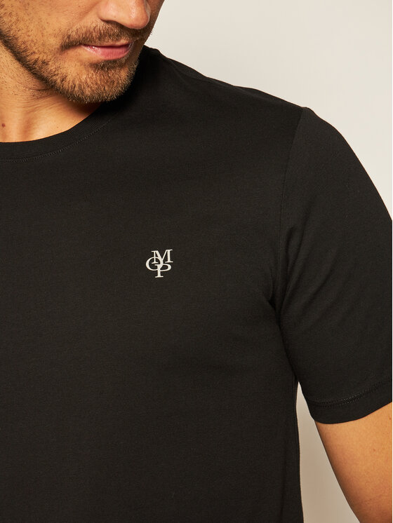Marc O'Polo Marc O'Polo T-shirt B21 2220 51068 Nero Shaped Fit