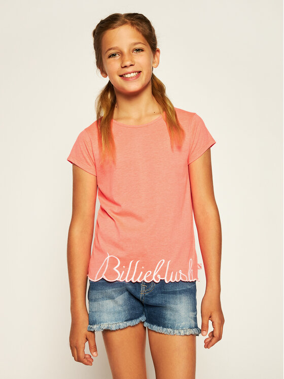Billieblush Marškinėliai U15733 Rožinė Regular Fit