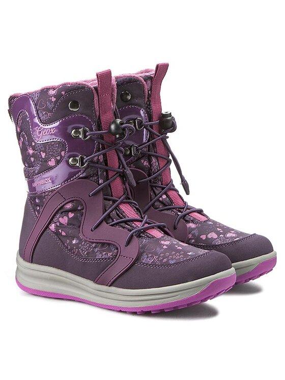 Geox Geox Sniego batai J Roby G. Abx B J5418B 0MN50 C8267 D Violetinė