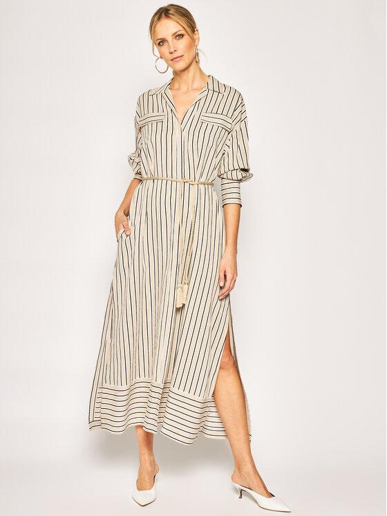 iBlues Marškinių tipo suknelė Ramarro 72210902 Smėlio Regular Fit
